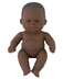 miniland newborn african doll children love