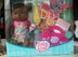 alive mommy african american doll diaper