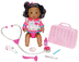 little mommy doctor african-american doll feeling