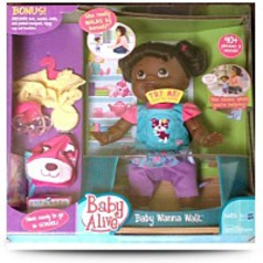 Baby Alive African American Baby Wanna