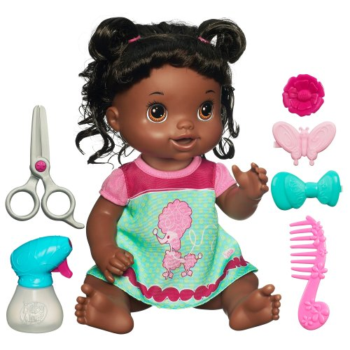 Compare Baby Alive Beautiful Now Baby Vs Newborn African American Baby Boy Doll