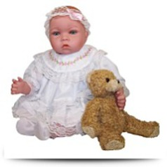 Baby Lisa Doll With Accessories And Daisy