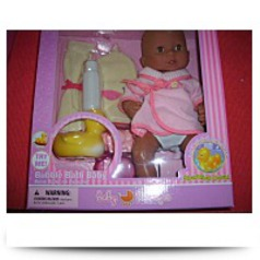 Bubble Bath Baby Doll And Accessories