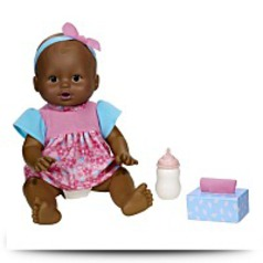 Little Mommy Wipey Dipey Africanamerican