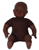 miniland soft body african doll children