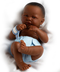 toys newborn african american- real -specialty