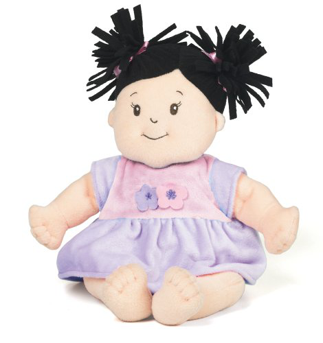 Baby Stella Black Hair Doll
