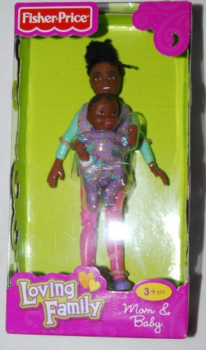 Loving Family African American Mom And Baby