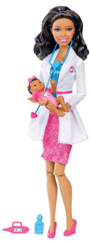Barbie I Can Be Baby Doctor Africanamerican